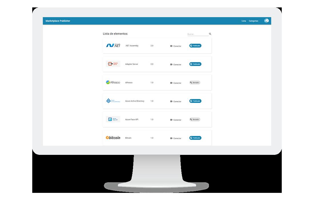 Aplicación web gestora de un respositorio de aplicaciones y conectores